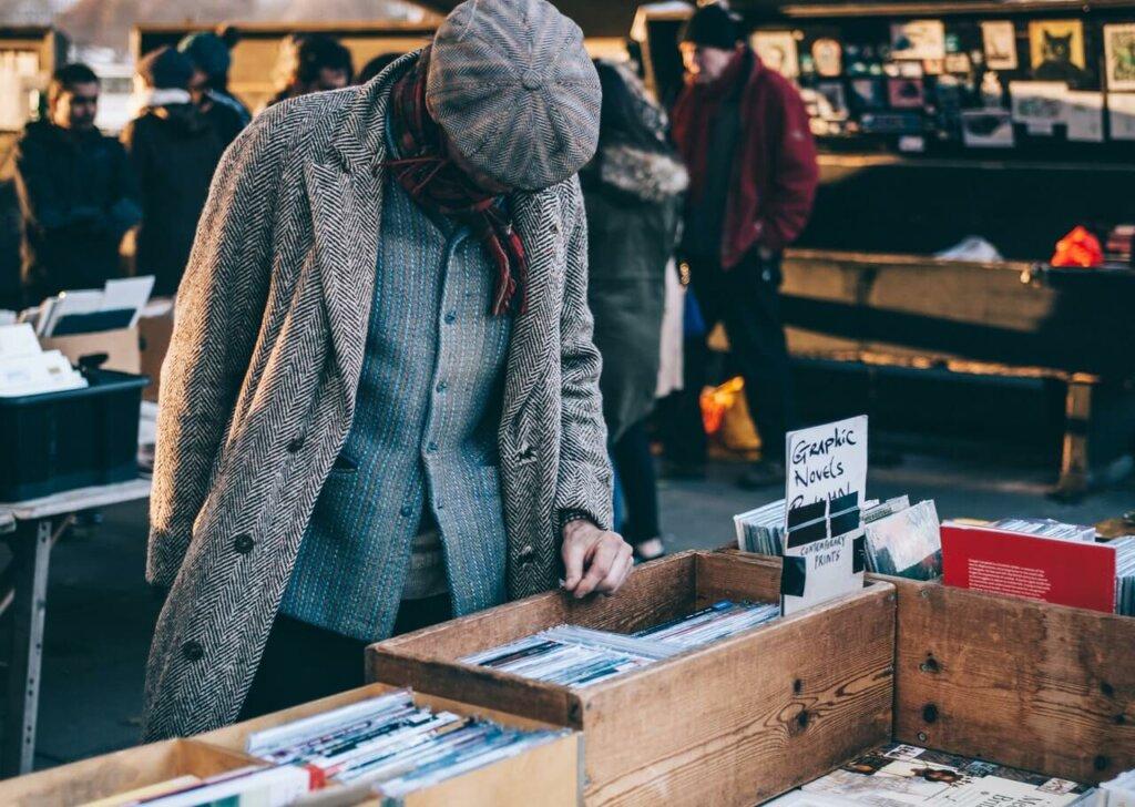 Rondstruinen kan ook op online marktplaatsen