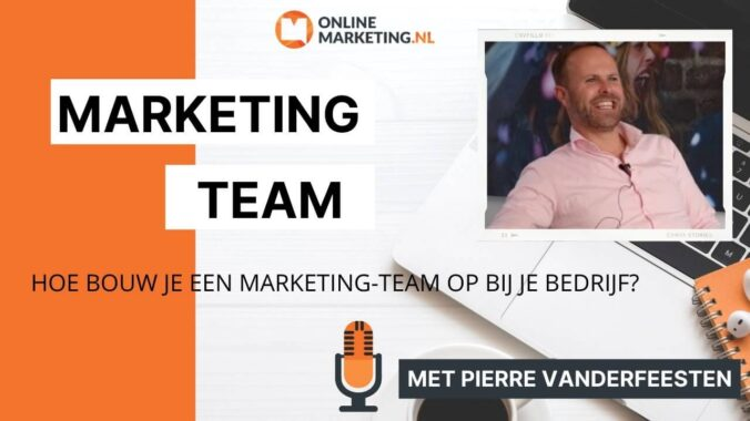 Online Marketing Team Bouwen